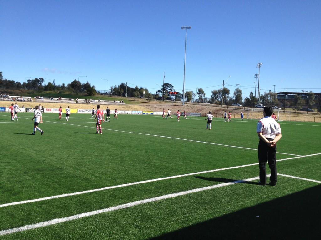 Rockdale City 14's Coached by ex NSL & @SydneyFC+@Zdrila friend Peter Lahanas win 3-2 vs @parracity @parramattafc1 http://t.co/MMclifn4
