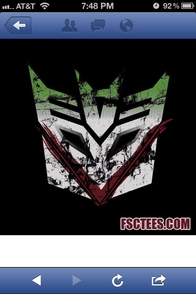 Decepticon/Joker = bad ass http://t.co/E20p5KKC