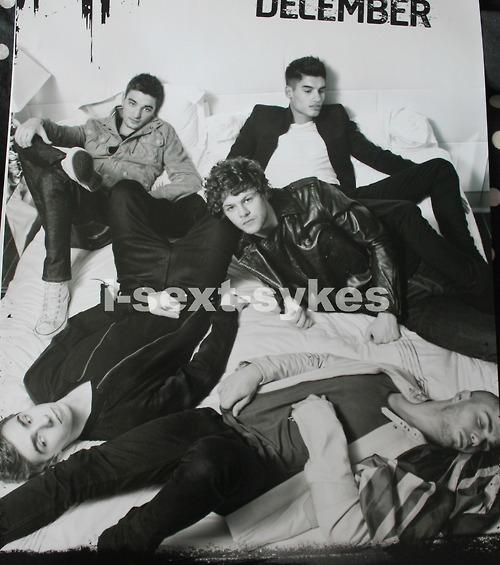 The boys together in TW's 2013 calendar. I will now be providing inhalers AND buckets for your drool. (December) http://t.co/OqjhgDtH
