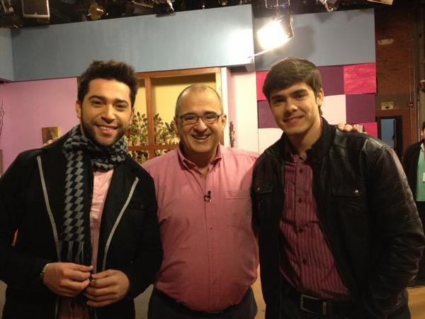 Muy Buenos Días RCN (@MBDRCN): Hoy con nosotros Johan y Edwin http://t.co/qwry9q6D