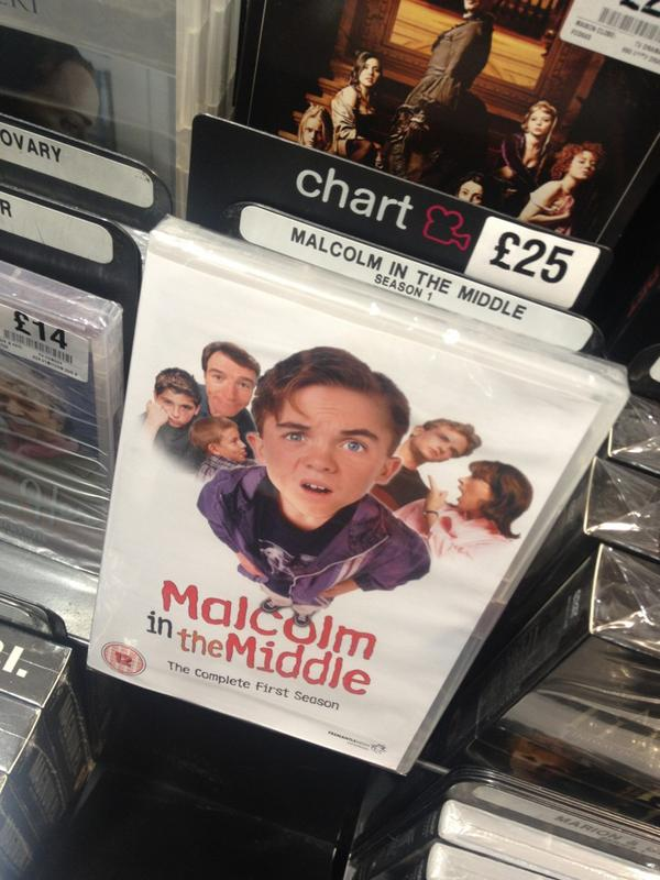 This makes me warm inside to see. Season 1 UK release on the shelf at #hmv #dvd http://t.co/5JW25t1U