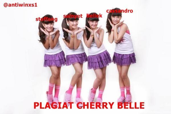 Cherrybelle Plagiat SNSD