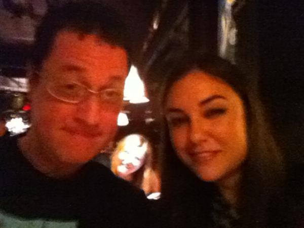 RT : Chillin' at Comedy Cellar with new BFF talking bout .. Broooody