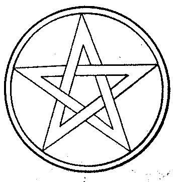 91. 별모양★ 기호, 펜타그램은 지혜와 소망, 교육, 그리스도 등을 의미합니다. 이것을 거꾸로 뒤집으면 사탄의 의미가 됩니다. http://t.co/sU514v3f