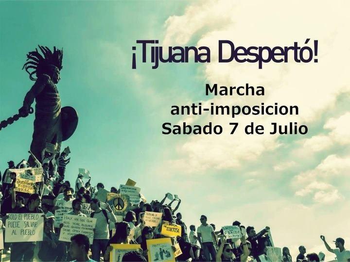 RT @Rescatemos_Mex: #MegaMarcha Tijuana: http://t.co/DMTo5tV1