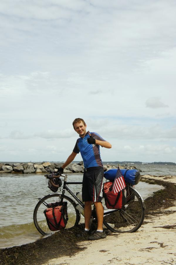 3,760 miles from San Francisco and 2 months later, we have crossed America and reached the East Coast! #acaTransAm