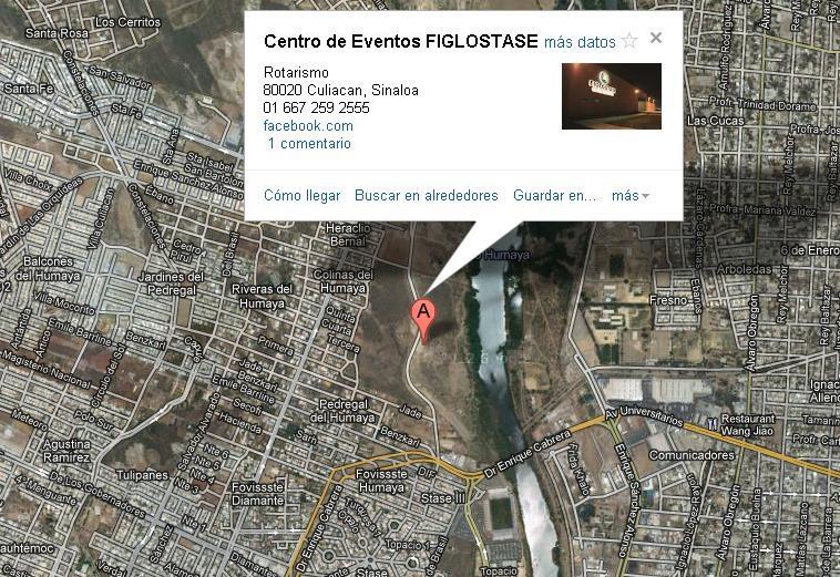 Por los que no saben llegar a FigloStase, les comparto un mapa de la ubicación del salón ¡Te esperamos en #Expo15 http://t.co/coYLt2PY