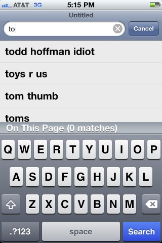 Just a reminder that Todd Hoffman is an idiot, according to Google Search. http://t.co/cRFlewUO