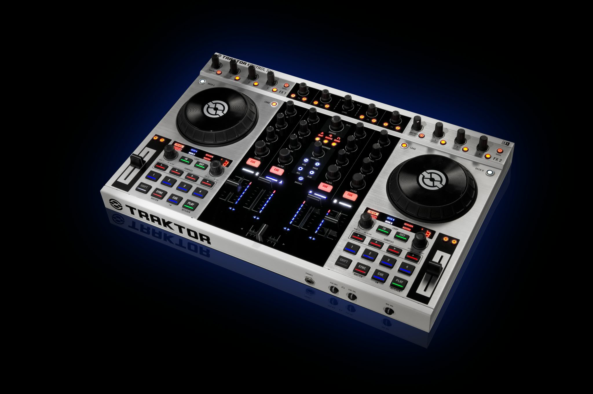 RT @Traktor: Win this custom #Traktor Kontrol S4! To be in with a chance: RT this and follow us! Random winner picked 31.08.12! http://t ...