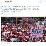 Que patéticos los de @teleSURtv muestran fotos de años atrás y ponen #28FMarchaPorLaPatria jajajaja Pillaos jajajaj http://t.co/MXEnQPh4Zo