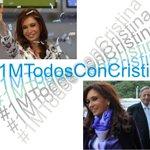 @Tano2412 #1MTodosConCristina Vamos Carajooooooo #1MTodosConCristina http://t.co/7a4uuSPS7M