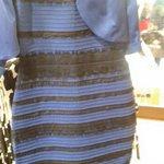 В интернете кипят споры про цвет платья. Какое оно? Синее с черным - ретвит, белое с золотом - избранное http://t.co/vvijnvVlaR