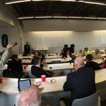 Metro Mayors meeting with area state legislators to discuss pending legislation. #working together #kansascity http://t.co/6kfVUHHH63