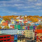 What colour do you see? #notadress but a really cool city. #loveStJohns http://t.co/DO3kpkleB0