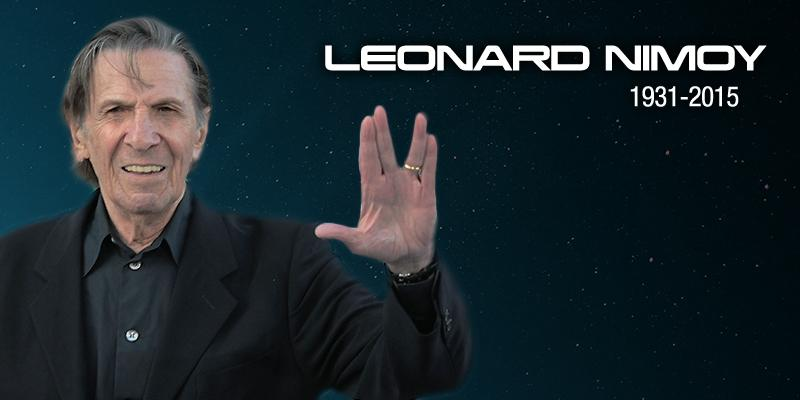 Thank you for inspiring us to boldly go where no man had gone before. #RIPLeonardNimoy http://t.co/Ih6l4D7snl