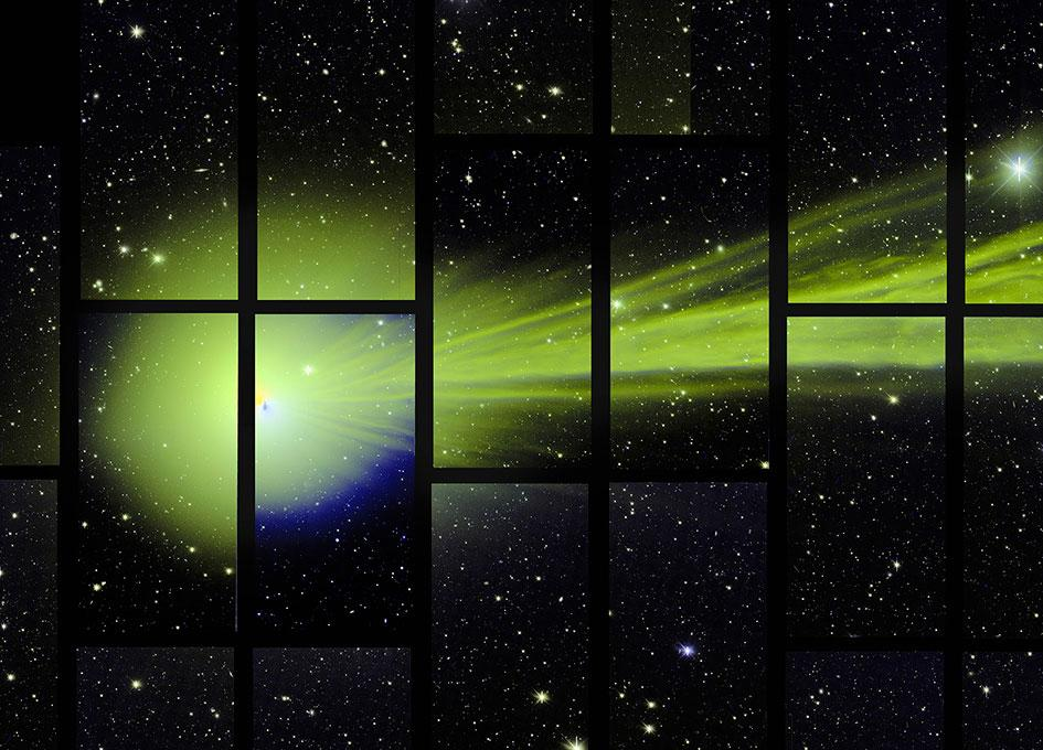 Dark Energy Camera Catches Breathtaking Glimpse of #Comet Lovejoy http://t.co/7dl9lU7okX http://t.co/V5oql7nSxI