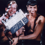 """William Shatner and Leonard Nimoy share a laugh between takes during the 1967 filming of """"Star Trek"""" http://t.co/CDycXkZgaJ"""