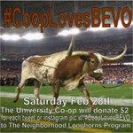 Hook'em on education! Support #NeighborhoodLonghorns – Charity ReTweet! #cooplovesBEVO with @Bevo_XIV -