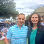 @CrEKontelj & @Senator_CFW amongst the crowds enjoying #pakofesta #Geelong embraces multiculturalism @DiversitatGee http://t.co/JHW7jqJbtr