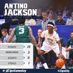 Player of the Game: #55 Antino Jackson! #ZipsCity #ZipsGameday http://t.co/lQ88hLbqeF