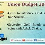 राष्ट्रीय प्रतीक वाले सोने के सिक्के: श्री @arunjaitley #बजट2015 #UnionBudget2015 #SabkaBudget http://t.co/hxOCIqXI6D