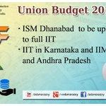 IIT related proposals: Shri @arunjaitley #बजट2015 #UnionBudget2015 #SabkaBudget #Budget2015 http://t.co/ATdyDjRAS3