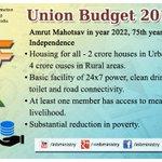 Key features of #UnionBudget2015- Amrut Mahotsav in the year 2022 #बजट2015 #Budget2015  #SabkaBudget http://t.co/8VpeMst5k6
