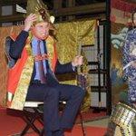Prince William dons samurai gear on Japan tour http://t.co/SaKZeTjg2W http://t.co/m7eijFOfqQ