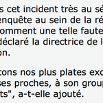"""""""Nous menons une enquête au sein de la rédaction pour comprendre comment 1 telle faute a pu être commise"""" #Bouygues http://t.co/Glkbk0aw8s"""