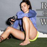 """""""My kid saves my life every day without knowing it."""" – Cat Zinganos fuel to become UFC champ. http://t.co/HqwBrABgvd http://t.co/IxpJC8jsSm"""