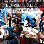 Victoire de lItalie face à lEcosse sur la dernière action du match (19-22) ! #6Nations http://t.co/lKfxy4kHM2