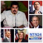 Maduro vs EEUU, anunció nuevo visado, atacó a Obama y prohibió entrada de Bush, Rubio y Ross-Lethinen http://t.co/Tc6nxOdXZo