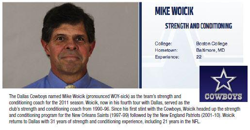 Congratulations #NFL Strength and Conditioning Coach of the Year: Mike Woicik - Dallas Cowboys @dallascowboys http://t.co/pNW86KaTKJ