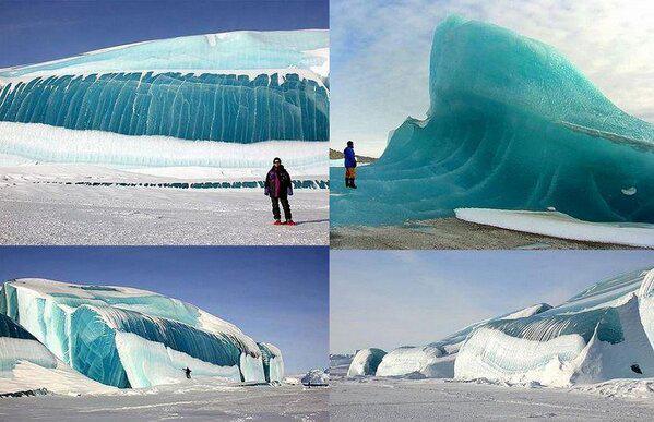 Frozen waves in Antarctica: http://t.co/7veUp8YgCE