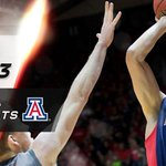 Arizona claims at least a share of the @pac12 title! No. 7 Wildcats go on the road & grab 63-57 win over No. 13 Utah. http://t.co/3SQhRdOelz