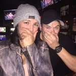@ginacarano and I are SPEECHLESS @RondaRousey !!! Congrats Champ!!! Much Love! http://t.co/buzXTBjnj2