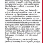 """""""@janrotmans: Zelfs de Telegraaf stelt het dominante rendementsdenken ter discussie   #NederlandKantelt     http://t.co/uyixGb0j7r"""" Zo ist"""