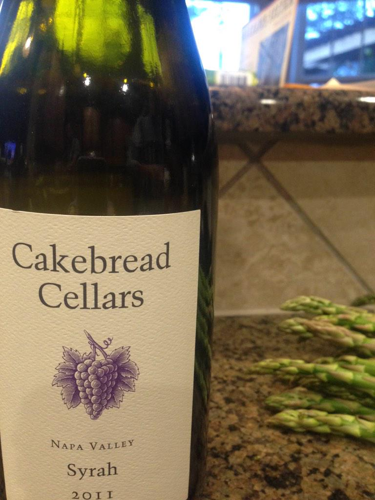 cheers! RT @Kim_Bird: Syrah Sunday with @CakebreadWines #napavalley #californiawine http://t.co/jwGdgOZDSF
