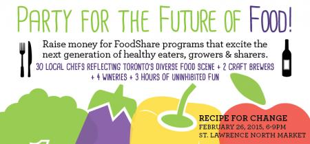 Good food, great cause! @FoodShareTO is back this month: http://t.co/WhqrNkQRTU http://t.co/ZSIsWbADXF