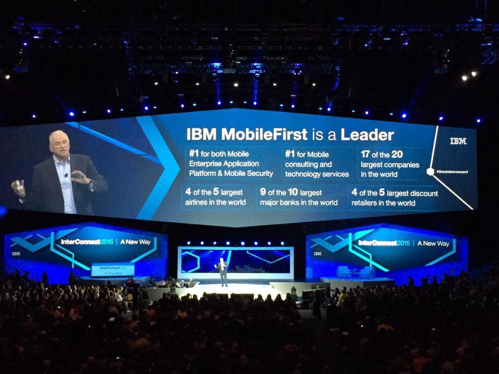 """Is mobile driving the cloud or is the cloud driving mobile? Both."" #ibmmobile #IBMInterconnect http://t.co/B9P1FBzWbA"