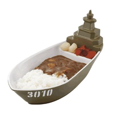 軍艦にカレーを盛る、そんな豪快なことがおうちで実現できちゃうカレー皿です。 子どももきっと大喜び♪ 日常雑貨としてはもちろん、パーティグッズとしても大活躍間違い無しです! ⇒ http://t.co/bCsvtjSeOc http://t.co/Mg8DmOWRFD