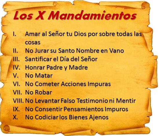 Los mandamientos de la ley de dios profundiza en ellos - Los 10 locos mandamientos ...