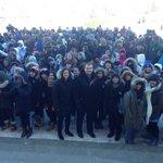 .@WayneEwaskoMLA & @HeatherStef proud to join THOUSANDS of #Manitoba students for START! #mbpoli #Winnipeg #STARTwpg http://t.co/66K6kVTPiV