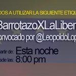 Vamos! #BarrotazoXLaLIBERTAD http://t.co/BrQmBKjnMj
