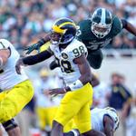 Its true, @MSU_Footballs Ed Davis can fly. This is your proof. http://t.co/hicKC0NALx