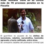 Romaña 70 procesos penales premiado con vacaciones en Cuba. A Arias 1 proceso perseguido político #DespiertaColombia http://t.co/UInpHx8MPM
