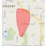 """""""@bchydro: #Outage in #Vancouver. Crews working 2 restore power 2 area by 10:30pm. Updates: http://t.co/xvkOWgGoru http://t.co/SxUctdyIqt"""