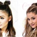 """""""@purplecams: Dont bash Ariana Grande este Nadine Respect Nadine Lustre http://t.co/EkbSw2lAAr"""""""