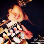 RT @13elieveSG: [HQ PIC] 141026 Yesung Weibo Update - Yesung making a V sign and pouting cutely! >< [2P] http://t.co/SeuVLpPn8N
