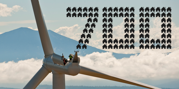 Did you know? Just one of our #wind turbines can power up to 700 homes. That's 15x more than was possible in 1990! http://t.co/cNj3NfUYHu